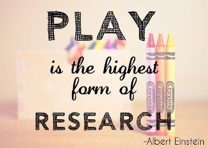 Media Library - Play is form of Research