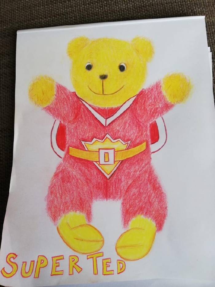 Media Library - Art super ted